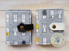 Little windows card holder by ManoFactured on Etsy