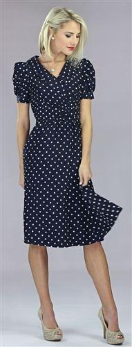 Ariana Modest Dress by Mikarose, Vintage Dress, Church Dresses
