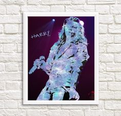 Harry Styles Printable Art with signature di FancyCraftIT su Etsy