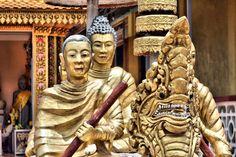 Au hasard des pagodes