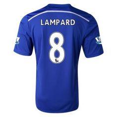 Nueva Camiseta de Lampard del Chelsea Primera 2014 2015