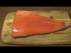 Cómo hacer Salmon Marinado y Ahumado Casero Chef Stefano Barbato - YouTube