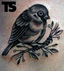 I want a tattoo of a baby bird