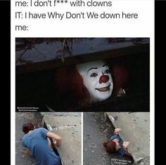 tbh i wouldn't go after what happened to georgie...