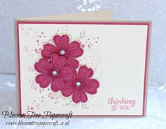 Stampin' Up! Timeless Textures with Flower Shop Thinking of You Card