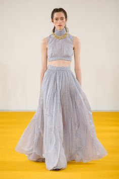 Emilia Wickstead, Spring 2017 - London's Spring '17 Runway Gowns Are Stunning - Photos