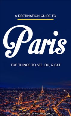 Planning a trip to the beautiful city of Paris, a lovely city in France? Check out this first-timer's guide to Paris that includes all the top things to do in Paris, places to go in Paris, places to see in Paris, what to see in Paris, and places to stay in Paris. Save this Paris travel guide in your travel board so you'll find it later! #paris #france #europe #travel #travelblog