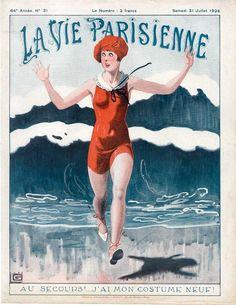 La Vie Parisienne  July 1, 1926  Cover by Leonnec by Starmela