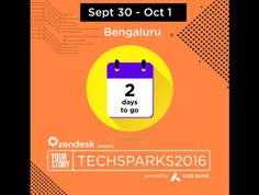 Eminent speakers, big sponsors, great exhibitors. #TechSparks2016 begins today! We are here, are you coming? #tsparks #Bengaluru