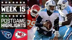 Titans vs. Chiefs | NFL Week 15 Game Highlights The Tennessee Titans defeated the Kansas City Chiefs, 19-17, in Week 15 of the 2016 NFL season!