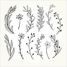 Doodle Photo, Foto Doodle, Doodle Art, Mandala Floral, Floral Doodle, Clipart, Flower Pattern Drawing, Floral Drawing, Graphic Design Typography