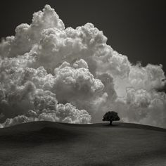 """The Storm behind the Hill"" by photographer Carlos Gotay. #Landscape #Photography"
