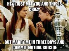 Very concise Romeo & Juliet