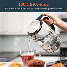 GimmethatDeal:Find Deals on Items you Love Essential Kitchen Tools, Kitchen Kit, Water Boiler, Light Ring, Water Heating, Water Quality, Hard Water, Heating Element, Black Glass