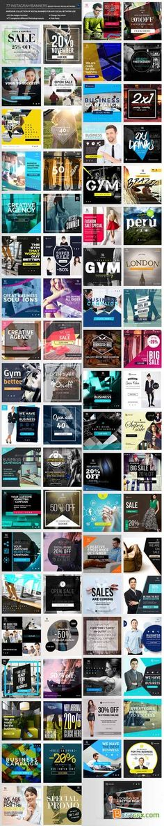 Graphicriver Instagram Banners Promo 14209762