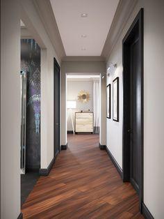 Фотография: Прихожая в стиле Современный, Классический, Квартира, Проект недели…