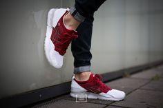 """Asics Gel-Lyte V """"Burgundy"""" – Foot Locker exclusive   Sneaker-Zimmer.de"""