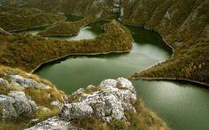 25. Uvac River Canyon, Serbia