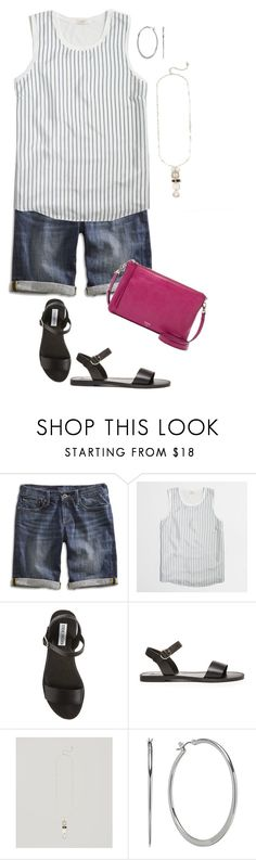 """Untitled #806"" by texasgal50 ❤ liked on Polyvore featuring Lucky Brand, J.Crew, Steve Madden and Chaps"