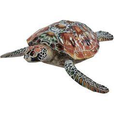 Green sea turtle,Animals,Paper Craft,sea,Reptiles,Animals,turtle,Paper…