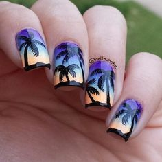 Summer is approaching. Why not get a pretty summer manicure for the season? As it is an enthusiasm as well as hot season, let's pop up the nail art by summer elements. Girls may consider what to ...