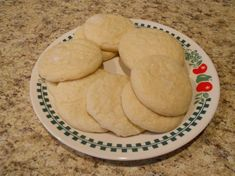 Fluffy Eggless Sugar Cookies- Made these today. So easy and really good!