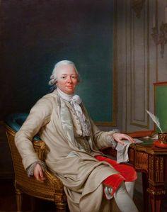 Etienne-François (1719-1785), duc de Choiseul-Stainville, en su escritorio
