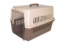 YML 36Inch by 24Inch by 27Inch Travel Carrier Pet Kennel with Beige and Dark Brown Bottom Large >>> Details can be found by clicking on the image.