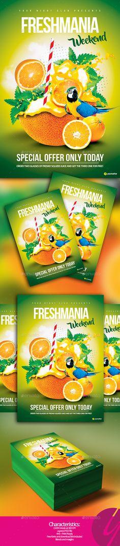 Freshmania Weekend - Events Flyers