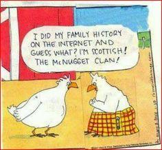 Scottish DNA #LDSmemes #LDSquotes #MormonLaughs