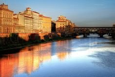 Arno sunrise- A must early morning walk!