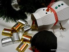 snowman treat holder - bjl