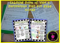 Teach point of view and perspective using fun read alouds and engaging activities.