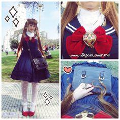 Sailor Moon Lolita coordinate