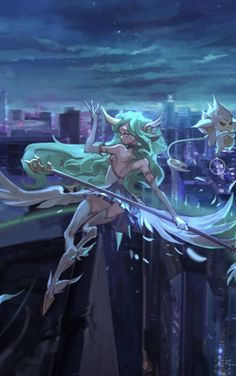 Star Guardian Soraka - uploaded on League of Legends' official Facebook page! *-* <3