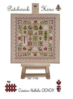 (2) Gallery.ru / Фото #20 - 2 - uni4ito Needle And Thread, Cross Stitching, Decorative Boxes, Xmas, Christmas, Embroidery, Storage, Holiday Decor, Furniture