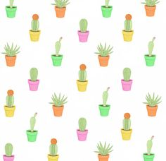 Holly's Tree: Cactus Pattern