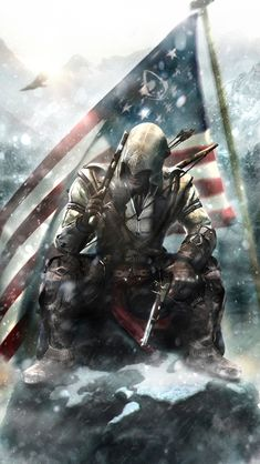 Assassins Creed Connor Kenway Wallpapers HD Desktop and The Assassin, Arte Assassins Creed, Assassins Creed Black Flag, Assassins Creed Tattoo, Assassins Creed Origins, Video Game Art, Video Games, Assassin's Creed 3, Assasins Cred