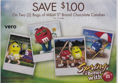 2013 magazine ad M&M's SPRING IS BETTER WITH mms M&M advertisement print