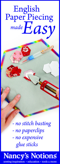 Learn Missie Carpenter's fabulous starch basting technique for English Paper Piecing. This method saves time and energy, and lets you get right down to the fun part—sewing. Nancy's Notions - Sewing and Quilting