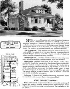 Sears Homes 1908 to 1940