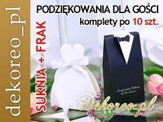 Kup teraz na allegro.pl za 4,90 zł - Pudełeczka PODZIĘKOWANIA DLA GOŚCI wesele ślub x10 (4984848551). Allegro.pl - Radość zakupów i bezpieczeństwo dzięki Programowi Ochrony Kupujących!