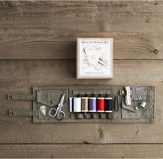 Roll–Up Sewing Kit