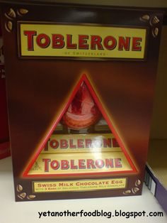 Dear Kraft PLEASE BRING BACK THE TOBLERONE EASTER EGG THIS YEAR!