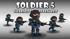 Soldier Character 5 has just been added to GameDev Market! Check it out: http://ift.tt/23mXXa2 #gamedev #indiedev