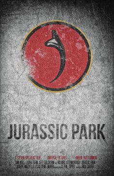 Jurassic Park Minimalist Poster