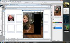 step 2 Photoshop Tutorial- Polaroid Magnets [template using photoshop]  •Open the downloaded Polaroid file in Photoshop, along with the photo you want to use. Using the Rectangular Marquee Tool (circled in orange), create a box around the portion of the image you want in the frame. •Click on the Move Tool (circled in black). You can use this to drag your selected image over onto the Polaroid template. •Your image might be a lot bigger than the template. Still using the move tool, drag the im...
