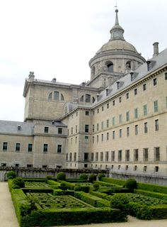 The Monastery of San Lorenzo del Escorial, Spain ---[labeled as one of the eighth wonder of the world]