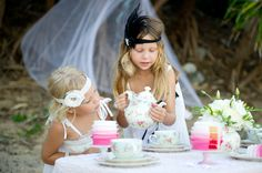 High Tea On The Beach Party - Kara's Party Ideas - The Place for All Things Party