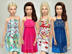 The Sims Resource: Designer Dresses Collection P07 by lillka • Sims 4 Downloads
